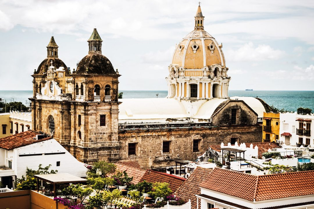 Headed to Cartagena, Colombia.