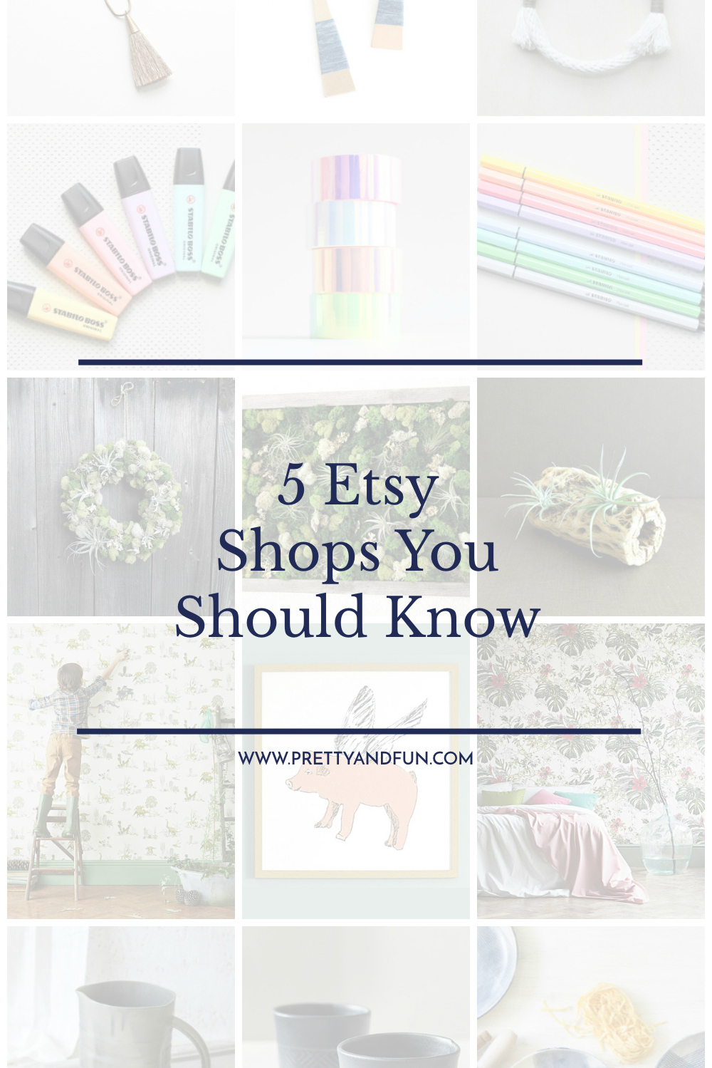 Best Etsy Shops | 5 Shops You Should Know | Pretty & Fun